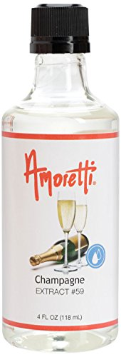 - Amoretti Champagne Extract, 4 Ounce