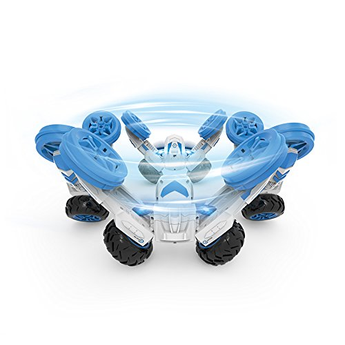 Rabing Stunt Car 2WD Remote Control RC Vehicle With LED Headlights Extreme High Speed 360 Degree Rolling Rotating Stand Up Rotation(Random Color)