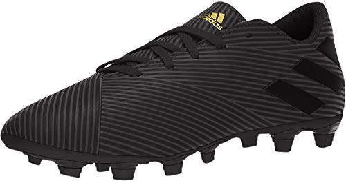 adidas Men's Nemeziz 19.4 Firm Ground Soccer Shoe, Utility Black, 6.5 M US