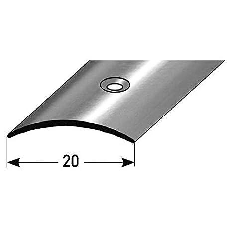 Perfil de transición / Tapajuntas, 20 mm (acero inoxidable ...