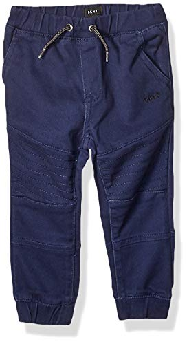 - DKNY Boys' Toddler Twill Jogger Pant, Peacoat, 2T
