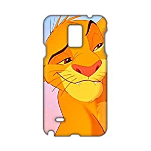 Angl 3D Case Cover Cartoon Cute Tiger Phone Case for Samsung Galaxy Note4
