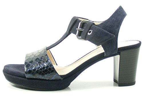 1 82 Femme 5 Mode Sandales 394 Schuhgröße Gabor 38 Bleu EU;Farbe AqwU1