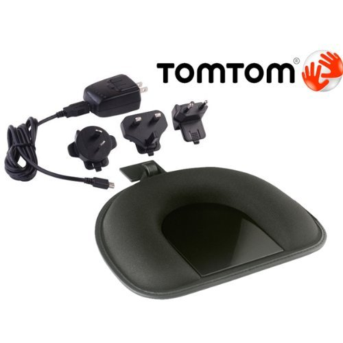 Kit Tomtom (TOMTOM ORIGINAL OEM DASHBOARD MOUNT & USB CABLE HOME CHARGER AC ADAPTER KIT W/INT'L CONNECTIONS FOR TOMTOM GPS NAVIGATORS. COMPATIBLE WITH TOM TOM ONE 125 130 140 145 S XL 325 330 335 340 350 355 S XXL 535 540 550 TM T WTE GO 520 530 540 550 620 630 640 720 730 740 750 920 930 940 950 1000 1005 SE TM LIVE PRO EASE START GPS NAVIGATOR (PN 9A00.280 / 9.UUB.052.01))