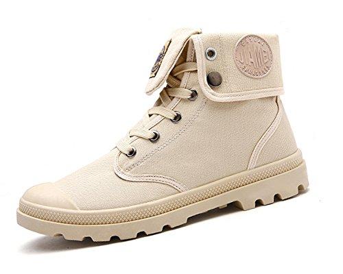 Invierno Moda Hombre Caqui Boots Otoño Botas Botas de Minetom Invierno Martin Retro Nieve Lazada Botines Anti deslizante Zapatos ItqHp