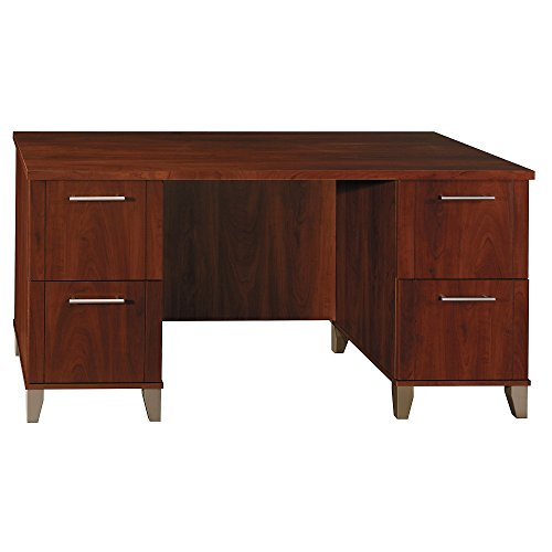 Bush Furniture Somerset Office Desk in Hansen Cherry