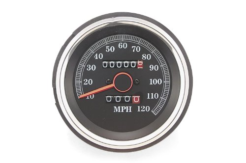 Biker's Choice 88-90 Harley XLH1200 Replacement Speedometer ()