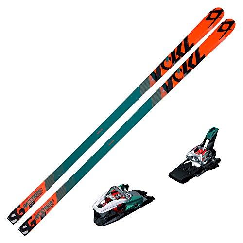(Volkl 2015 Racetiger Speedwall SGR Skis w/Marker Race Xcell 16 Bindings)