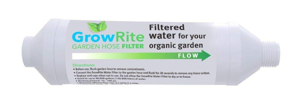 The Spa Marvel Company GrowRite Garden Hose Filter - Filtered Water for Your Organic Garden