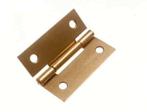 100 Pairs Butt Hinge ( Door Box ) Eb Brass Plated Steel 50Mm 2 Inch
