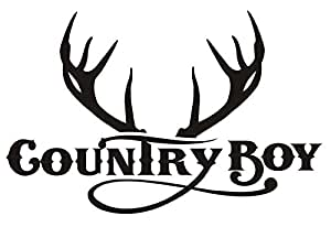 Amazon.com: Country Boy v3 Decal Sticker - Peel and Stick ...