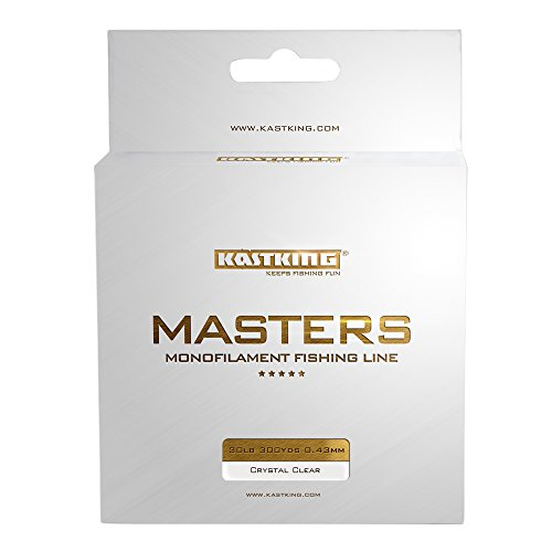KastKing Masters Tournament Grade Monofilament Fishing Line – Pro Series Mono Line Premium Fishing Line – Super Smooth Casting, Abrasion Resistant, and Superior Strength -Award Winning Manufacturer