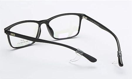 Fermaocchiali Antiscivolo Regolabile nero, trasparente Cuffie Antigoccia Per Occhiali TuT 6 Paia Di Fermaocchiali In Silicone Manicotti Antiscivolo