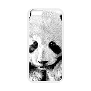 """HXYHTY Cover Shell Phone Case Panda For iPhone 6 Plus (5.5"""")"""