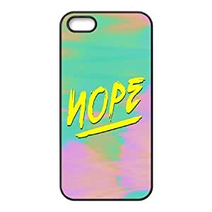 Nope Cheap Custom Cell Phone Case Cover for iPhone 5,5S, Nope iPhone 5,5S Case