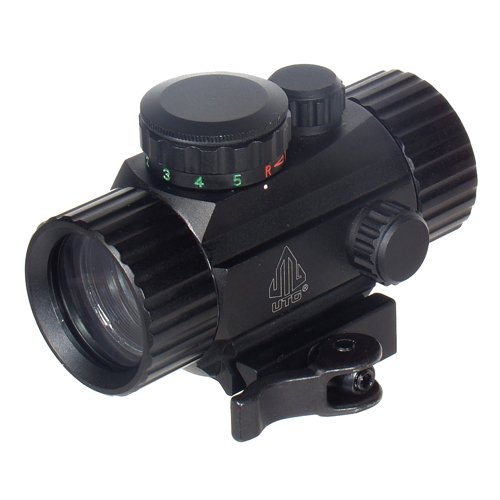 UTG 3.8'' ITA Red/Green Circle Dot Sight w/Integral QD Mount by UTG