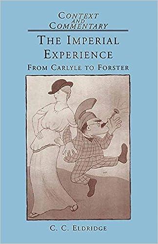 Libros Descargar The Imperial Experience: From Carlyle To Forster Bajar Gratis En Epub