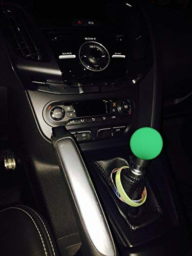 RYANSTAR Green Glow in The Dark Shift Knob for Manual/Automatic Short Throw Gear Shifter Glowing Pearl fit for M81.25, M101.25, M101.5, M121.25