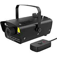 1byone Halloween Fog Machine with Wired Remote Control,...