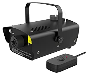 2. 1byone Halloween Fog Machine with Wired Remote Control