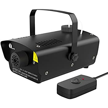 Amazon chauvet dj h700 hurricane 700 fog machine wwired 1byone halloween fog machine with wired remote control 400 watt smoke machine for holidays parties weddings black fandeluxe Image collections
