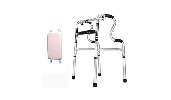 Walker Andador Estable, Andador Plegable de Aluminio con Movilidad ...