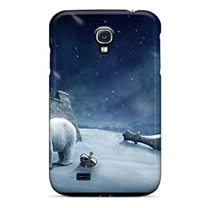 New Snap-on AnnetteL Skin Case Cover Compatible With Galaxy S4- Polar King