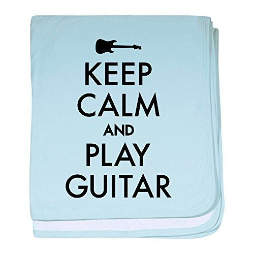 - CafePress - Keep Calm and Play Guitar - Baby Blanket, Super Soft Newborn Swaddle