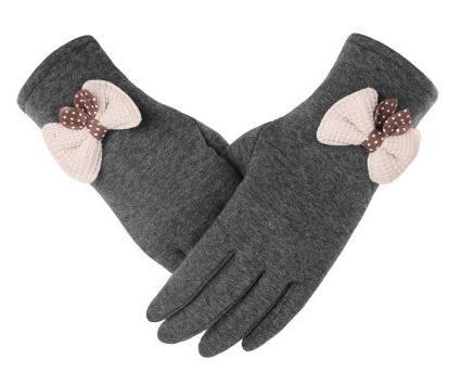 Cinque guanti touch screen in maglia 75ccf7ce08b3
