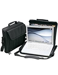 Black Compact Laptop Computer Briefcase Bag