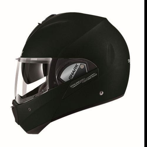 Shark Unisex-Adult Full Face Evoline 3 Fusion Helmet (Matte Black, Medium)