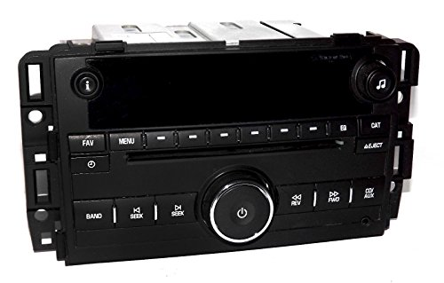 1 Factory Radio CD Player mp3 Aux Input Radio Compatible with 2007-2014 Chevy Truck 20918429 (Radio Factory Chevrolet)