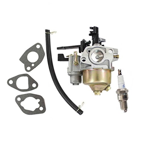 HURI Carburetor with Spark Plug for Harbor Freight Predator 6.5 HP 212cc OHV Horizontal Shaft Gas Engine G200F Pressure (Kit Freight)