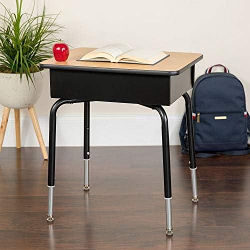 Amazon Com Flash Furniture Student Desk With Open Front Metal Book Box Furniture Decor