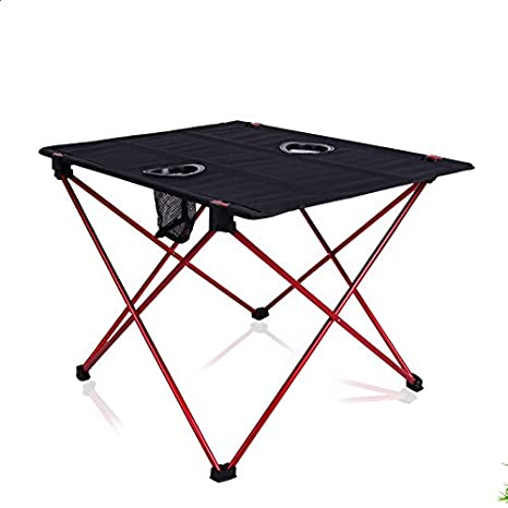 95899adef4bc Amazon.com : Aobeau Outdoor Folding Tables And Chairs Aluminum ...