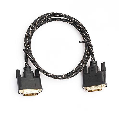 LCD Digital Monitor DVI to DVI-D Male 24+1 Pin Dual Link TV Video Cable for TFT