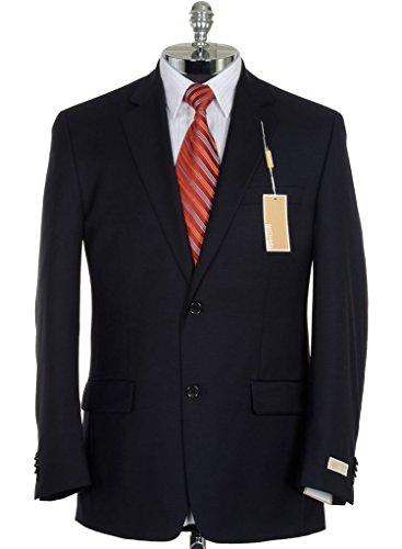 - Michael Kors Men's 3LX0022 Classic-Fit 100% Wool 2-Piece Solid Suit - Navy - 40L