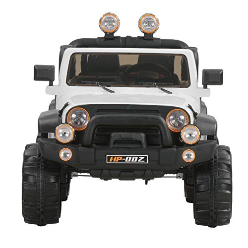 Heavens Tvcz Electric Ride Power Wheel Kids Car Battery Powered Remote Toy Control W Mp3 Jeep Truck Speed Cars Rc