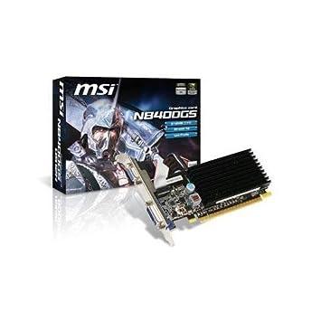 MSI GeForce 8400 GS 512 MB DDR2 Tarjeta gráfica PCI-Express ...