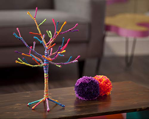 "41hGRJ9%2BlBL - Craft-tastic – Yarn Tree Kit – Craft Kit Makes One 18"" Tall Jewelry Organizer"