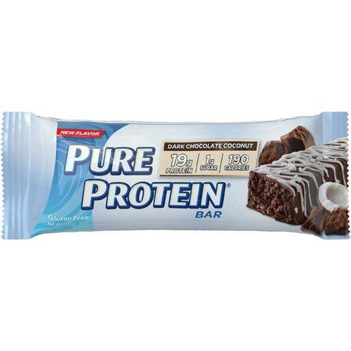 (Pure Protein Bar - Dark Chocolate Coconut - 50 grams - 1 Case - Gluten Free - Yeast Free-Wheat Free- )