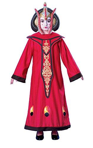 Girls Queen Amidala Kids Child Fancy Dress Party Halloween Costume