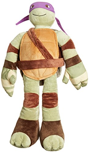 Jay Franco Nickelodeon Teenage Mutant Ninja Turtles Pillowtime Pal Pillow, Donatello]()