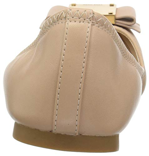 Cole Women's Ballet Leather Bow Modern Flat Ch Nude Tali Haan aaqn4Wr