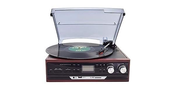 RJJ Brown Moderno De Radio Disco Fonográfico De Vinilo Viejo ...
