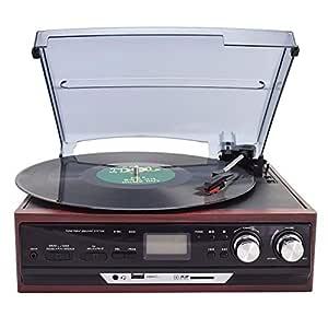 ZXF Brown Moderno De Radio Disco Fonográfico De Vinilo Viejo ...