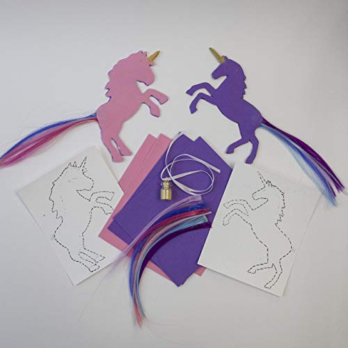 Unicorn 3 Craft Projects School Supplies Pink Bookmark Craft Kit DIY Purple Unicorn Kit Party Favors Make Your Own Unicorn from Omterior