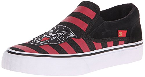 DC Women's Trase Slip-On X TR Skate Shoe, Red/black, 42.5 B(M) EU/8.5 B(M) UK