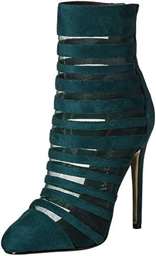 Luichiny Women's Carried Away Ankle Bootie, Emerald, 8 M US