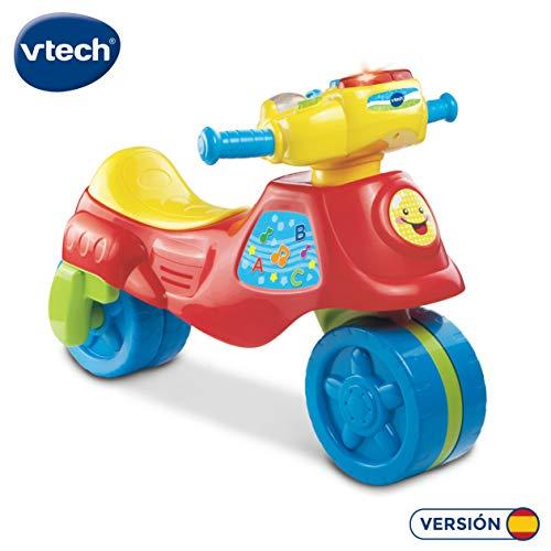 VTech – Super moto correpasillos electrónica 2 en 1, color rojo (3480-181722)